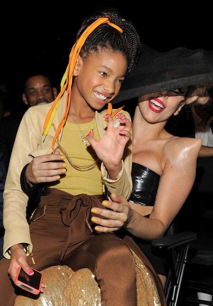 Willow Smith's Celebrity Idol: Lady Gaga