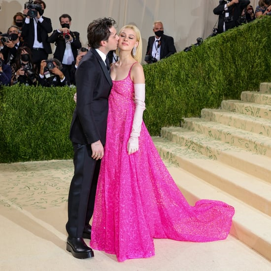 Brooklyn Beckham and Nicola Peltz at the Met Gala 2021