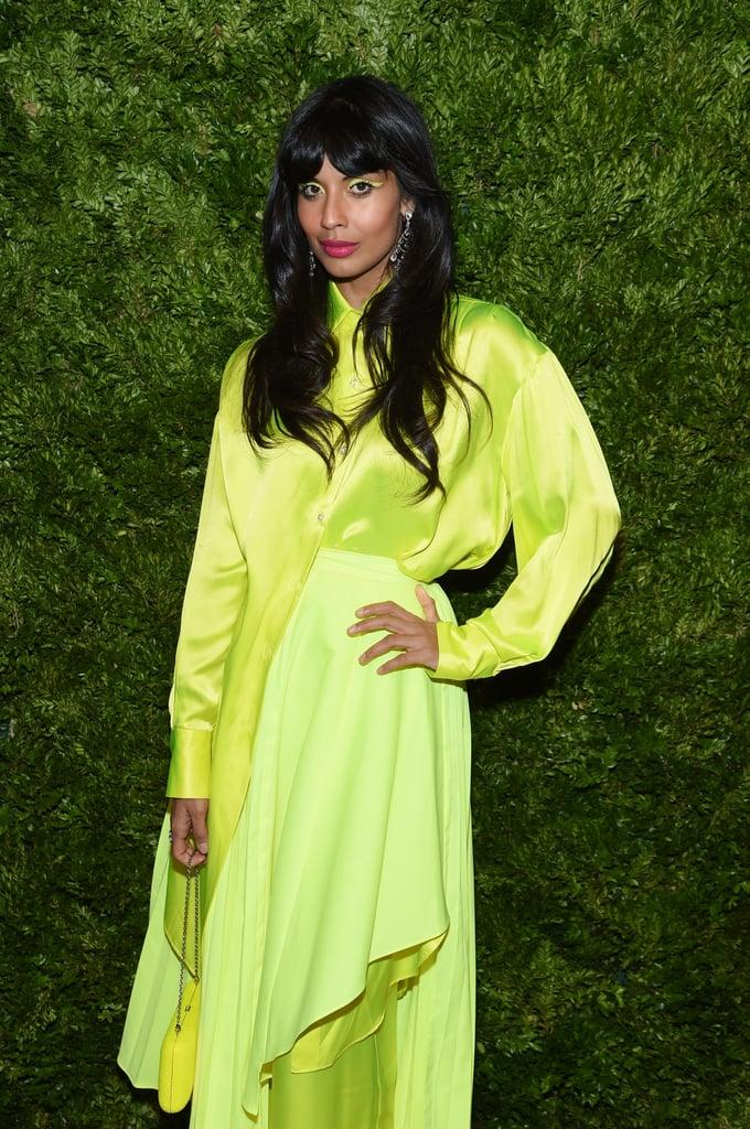 Jameela Jamil at the CFDA/Vogue Fashion Fund 2019 Awards