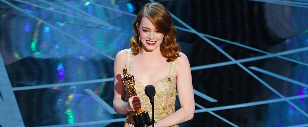 Andrew Garfield's Reaction to Emma Stone's Oscar Win