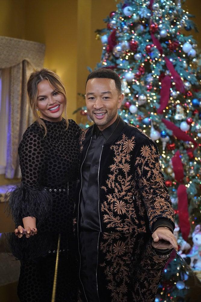 A Legendary Christmas With John and Chrissy Photos   POPSUGAR ...