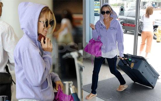 Photos of Lauren Conrad at LAX Airport