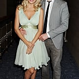 Michael Bublé posed with Luisana Lopilato at the June 2012 Nordoff Robbins O2 Silver Clef Awards in London.