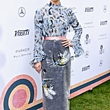 At the Variety 10 Directors to Watch and Creative Impact Awards, Ruth was styled in a full Erdem look.