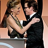 Sharon Stone and Matt Bomer