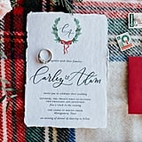 Wreath-Themed Invitations