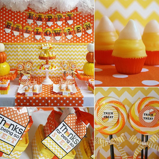 The Cutest Candy Corn Halloween Party  sc 1 st  Popsugar & The Cutest Candy Corn Halloween Party | Kid-Friendly Halloween Party ...