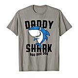 Daddy Shark T-Shirt Father Grandpa Halloween