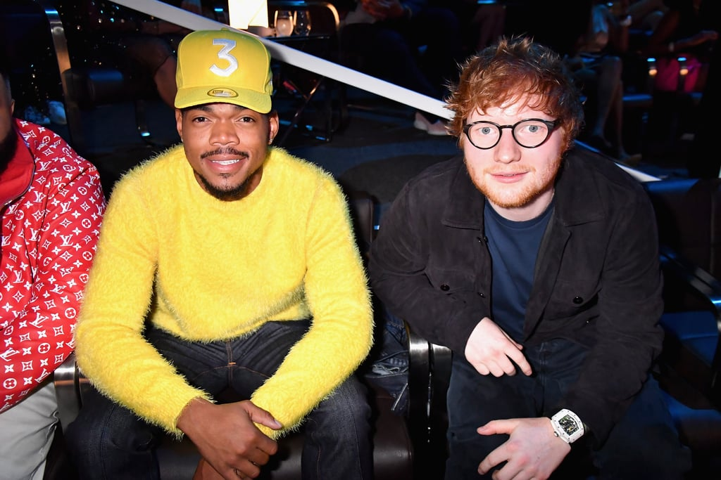 Ed Sheeran, Chance The Rapper, and PnB Rock