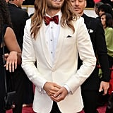 """I'm not going to say who looks the most beautiful, but it's Jared Leto."" — On the good-looking crowd"