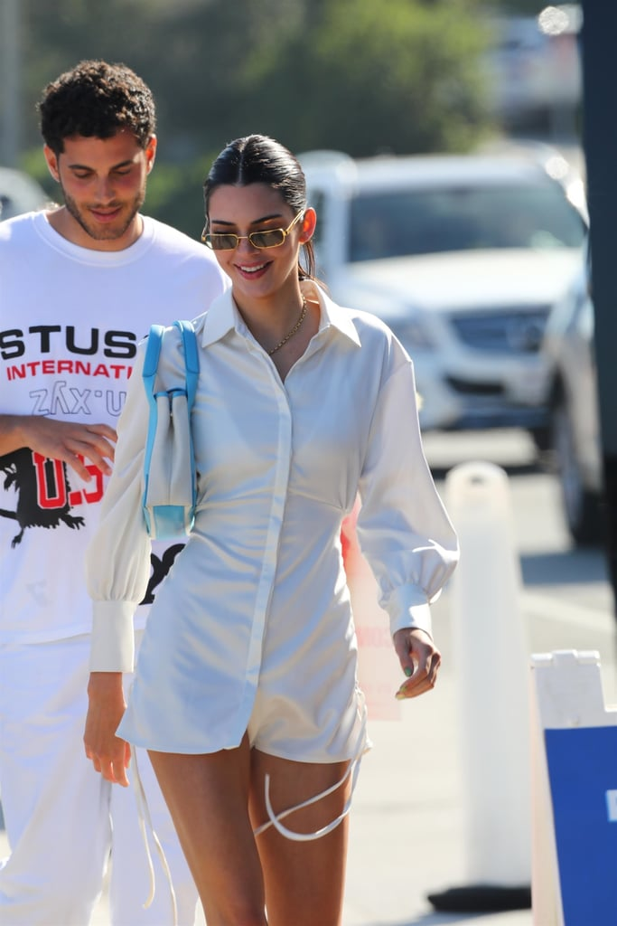 Kendall Jenner's 4th of July Shirtdress Outfit Photos