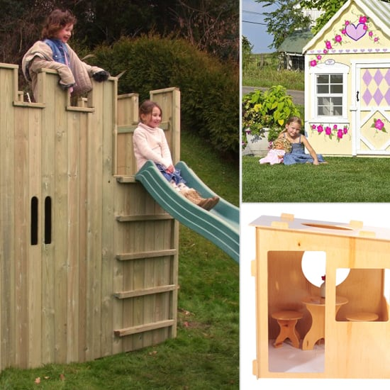 6 Adorable Outdoor Wooden Playhouses