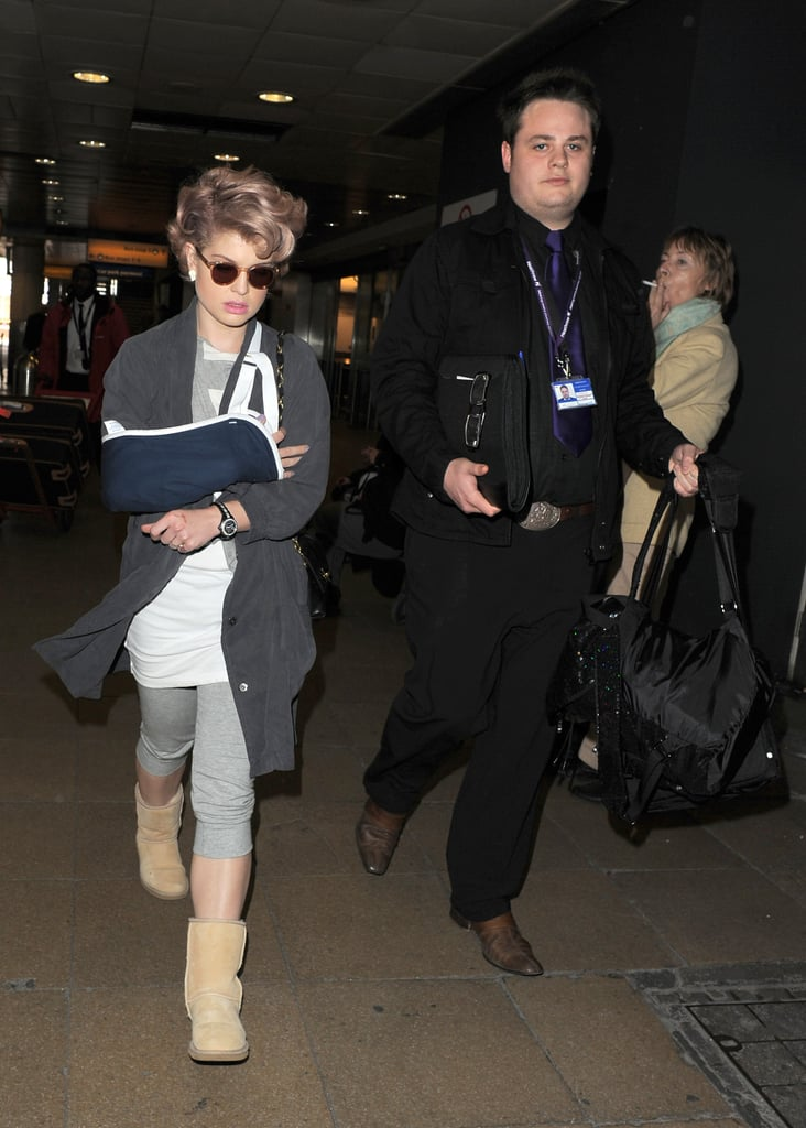 Photos of Kelly Osbourne With a Broken Arm