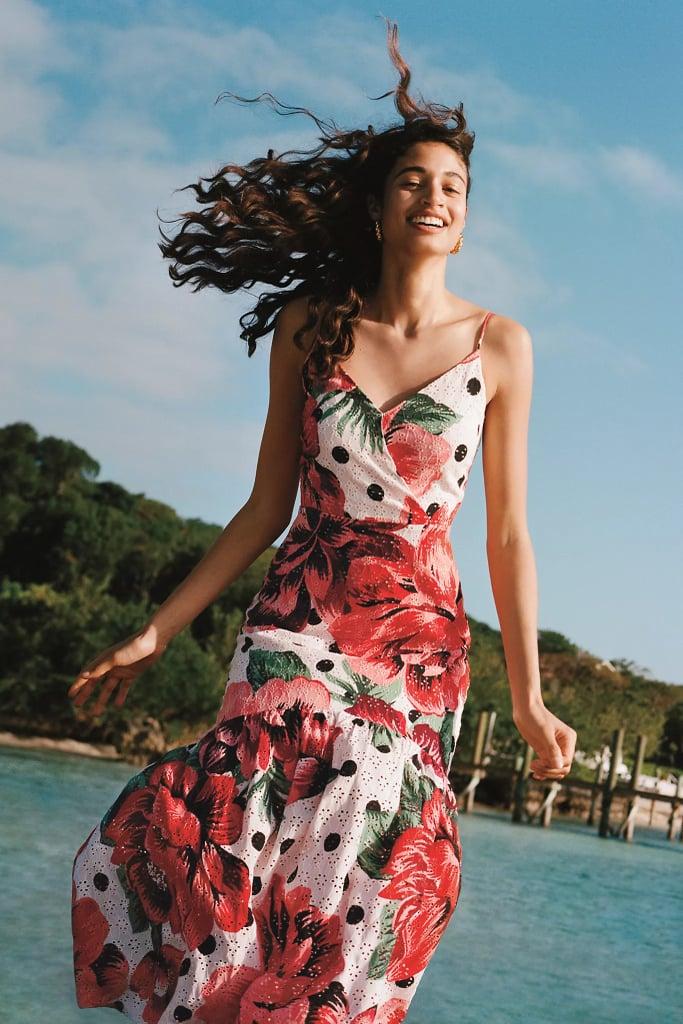 Farm Rio Riviera Eyelet Maxi Dress