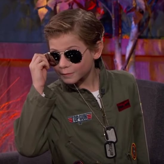 Jacob Tremblay on Jimmy Kimmel Live Halloween 2016