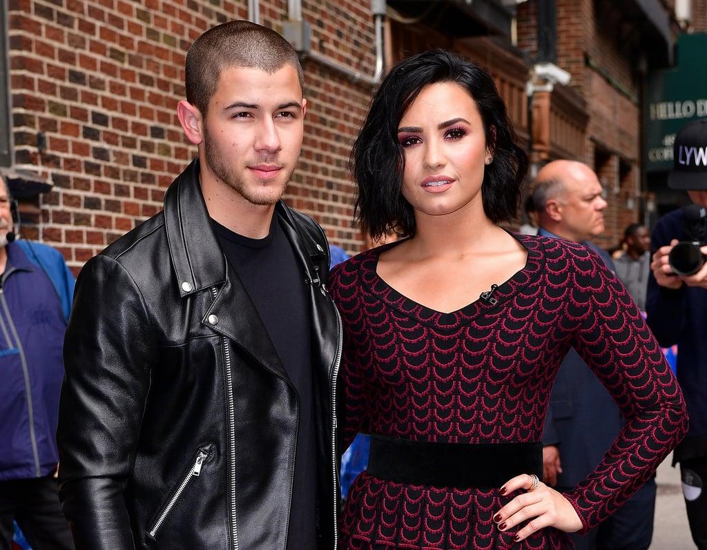 Nick Jonas and Demi Lovato in NYC June 2016