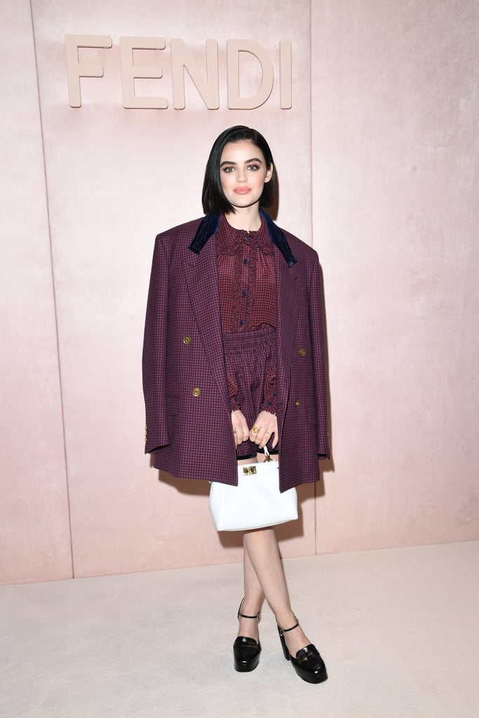 Lucy Hale at the Fendi Fall 2020 Show