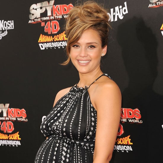 Jessica Alba Pictures in Dolce and Gabbana at Spy Kids Premiere