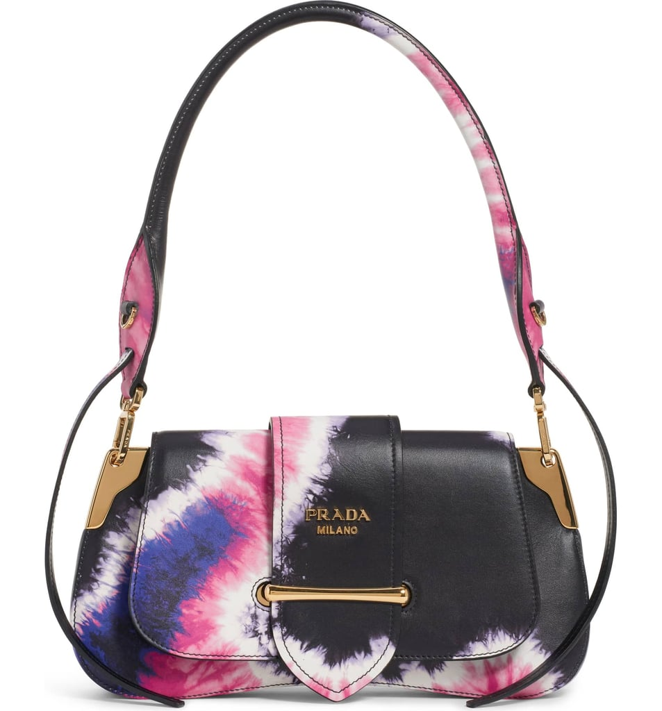 b28ada9c Prada Tie Dye Leather Top Handle Bag | Tie Dye Prada Bag 2019 ...