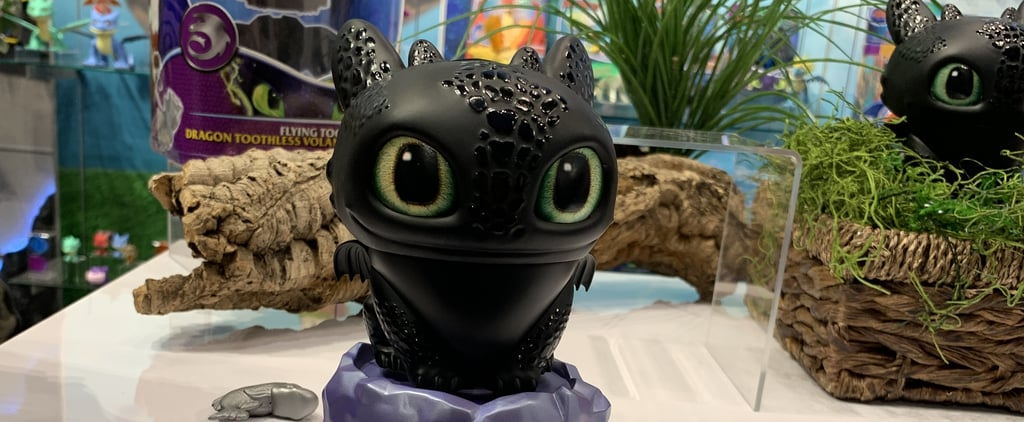 Spin Master How to Train Your Dragon Flying Toothless Toy