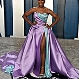 Cynthia Erivo at the Vanity Fair Oscars Afterparty 2020