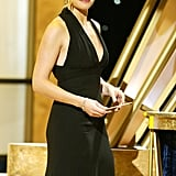 Kate Winslet looked amazing in a black gown in 2005.
