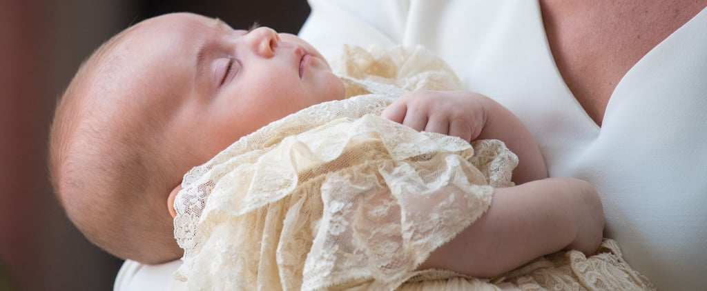 History Behind Prince Louis's Christening Gown