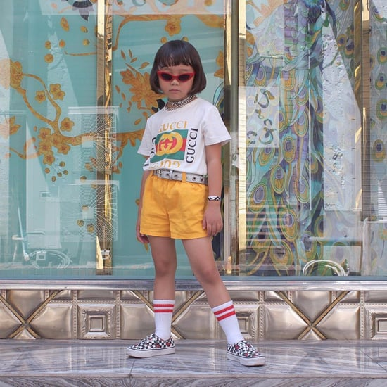 6-Year-Old Coco From Japan's Street Style