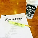 """Note the """"Gibbler's Coffee."""""""