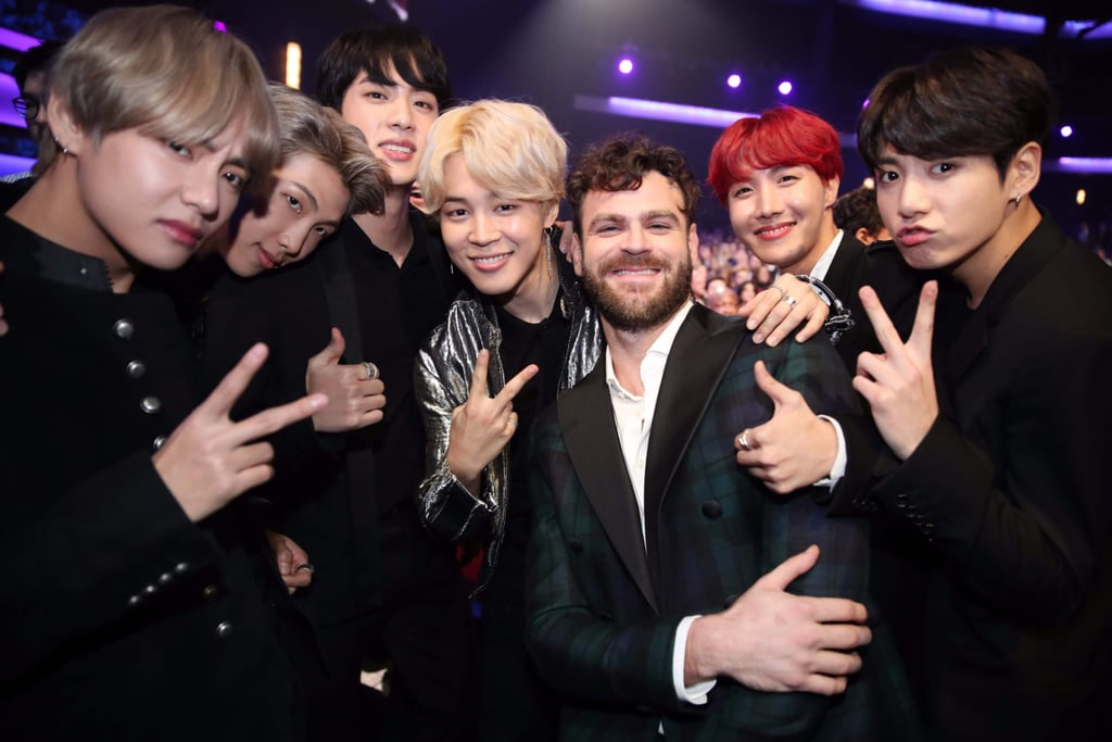BTS Reacting to Other Celebrities at the 2017 AMAs