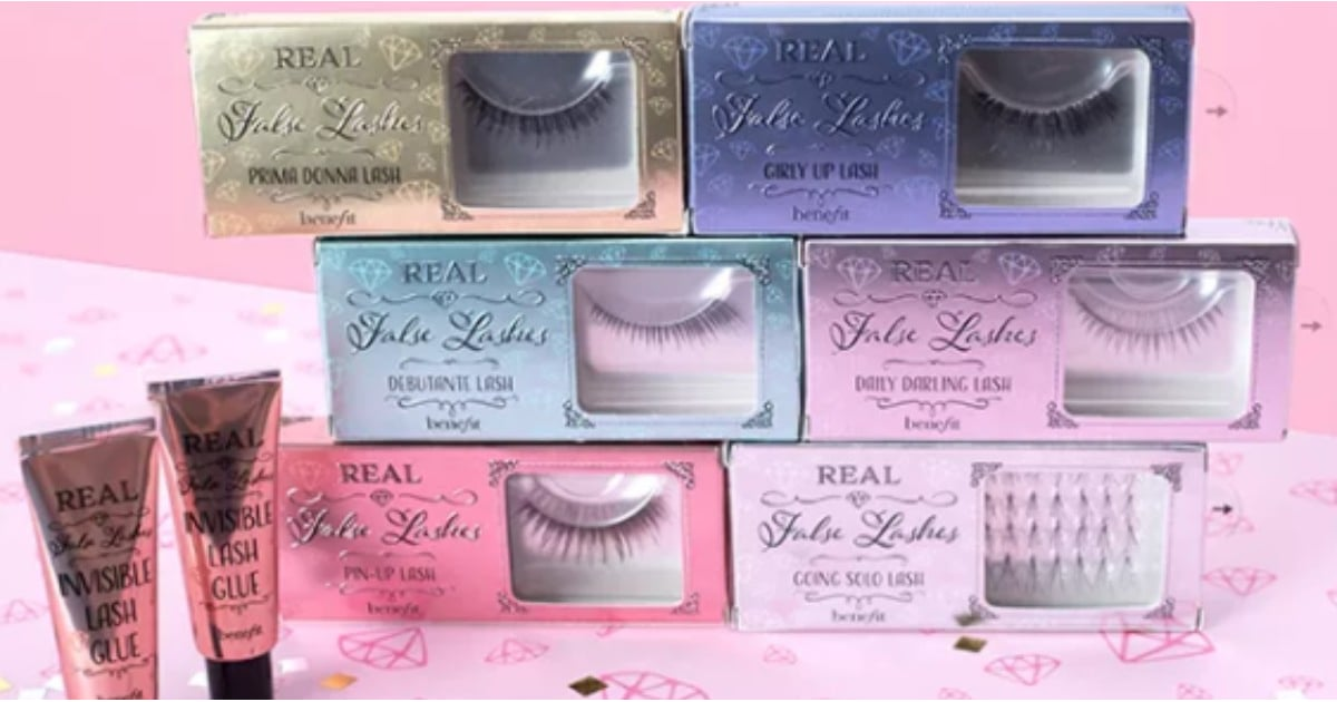 6f5fc360e76 Benefit Launches Real False Lashes Collection   POPSUGAR Beauty