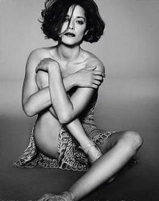 Marion Cotillard does Elle France june 09