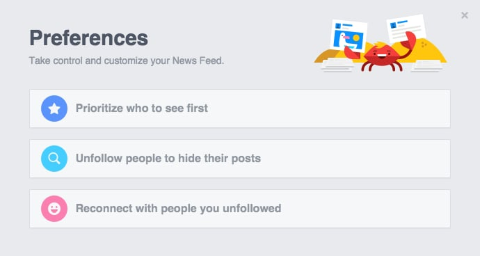 Customize Your News Feed