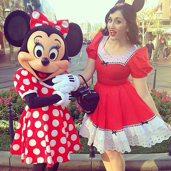 0e78f1b7a12 Allison Erland dresses in Disney-inspired costumes