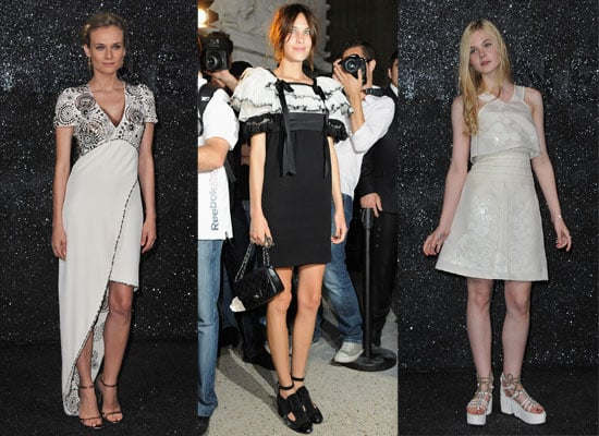 Pictures of Celebrities at Chanel's Haute Couture Autumn Winter Show in Paris including Diane Kruger, Alexa Chung and Anna Winto