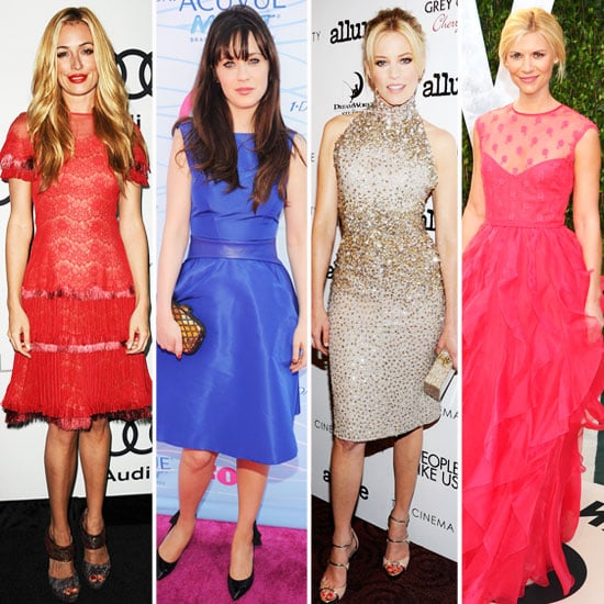 Cat Deeley, Elizabeth Banks And Zooey Deschanel Style At Emmy Awards