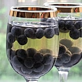 Photo Gallery: Grape Gelatin With Blueberries