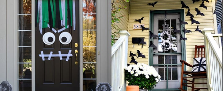 7 Halloween Front Door DIYs That Are Sure to Get Noticed by Trick-or-Treaters