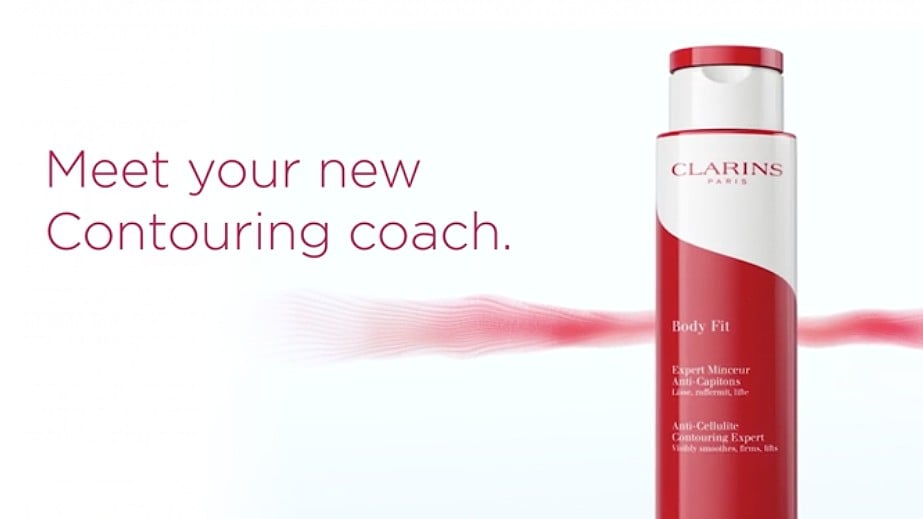 For the fight against cellulite: Clarins New Body Fit Anti-Cellulite Contouring Expert!