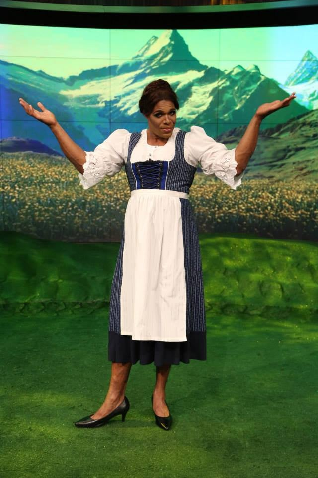 Michael As Maria From The Sound Of Music Kelly Ripa And