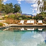 The home is located on the site of the historic Ojai Foothills Hotel, and the buyer has the option of purchasing eight adjacent acres abutting the Los Padres National Forest.