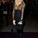 Sienna Miller got in on the lace trend with a sexy LBD in 2011.