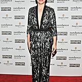 Juliette Binoche attended a special bash for Cloud of Sils Maria.