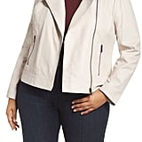 Halogen Asymmetrical Front Zip Jacket