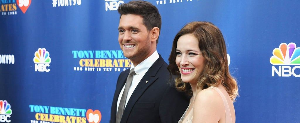 Michael Buble and Wife on Red Carpet September 2016