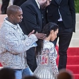 Kim Kardashian and Kanye West, 2016