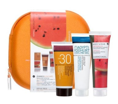 Monday Giveaway! Korres Suncare Beauty Bag