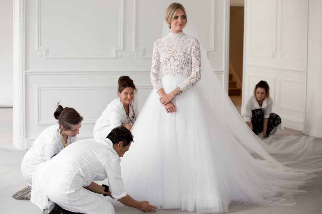 ec13a777143a Chiara Ferragni Wedding Dress Pictures
