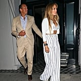 Jennifer Lopez and Alex Rodriguez's Couple Style 2018