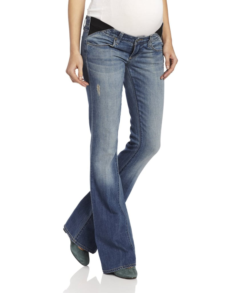 A longtime maternity favorite of ours, Paige's Laurel Canyon Maternity Jeans ($211) are the perfect color for Spring, and their bootcut shape is a nice change from all of the skinny jeans out there.